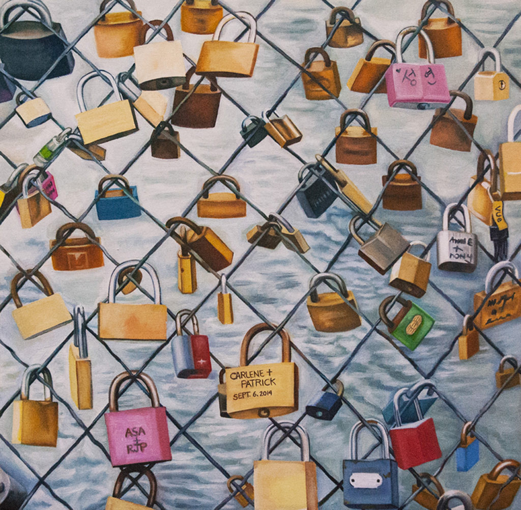 Paris Locks by Beth Pederson